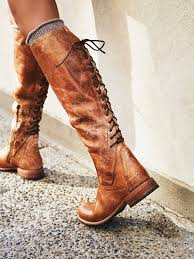 free people surry lace back boot soft leather silhouettes and