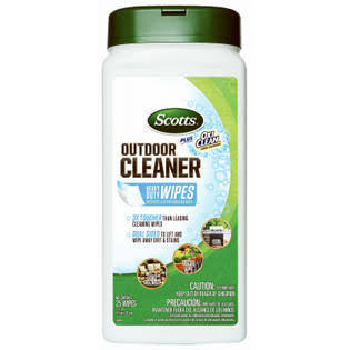Scotts Plus Oxi Clean Outdoor Furniture Cleaner Wipes