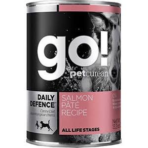 Petcurean Go! Daily Defence Dog Food - Salmon Pate, 13.2oz