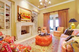 Interesting French Country Living Room With Interior Home Trend Ideas