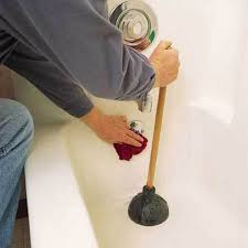 Unclogging A Bathtub With A Plunger by Plumbing Repairs How To Clear Any Clogged Drain Actionplushi