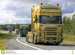 100 Viking Trucking Berthons Scania V8 S On Truck Convoy Editorial Photo Image