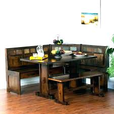 Booth Style Dining Set Room Table