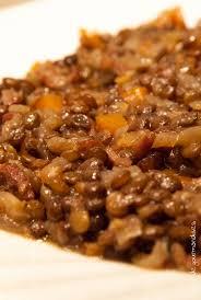cuisine des lentilles lentilles aux carottes et petits lardons
