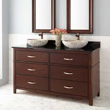 Allen And Roth Bathroom Vanity by Mahogany Double Sink Vanity Signature Hardware