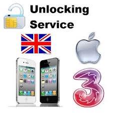 Unlock IPHONE UK 3 Hutchinson iPhone 5 4 3Gs 3G 2G Buy