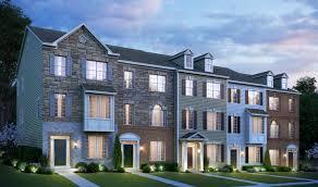 K Hovnanian Homes Floor Plans North Carolina by Kensington Overlook New Homes In Kensington Md