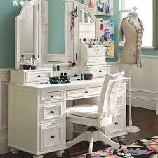 Single Sink Vanity With Makeup Table by Vanity Desk With Mirror And Drawers Fantastic Dressing Table