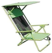 Kijaro Beach Sling Chair by Bravo Sports 142038 Beach Shade Chair Lime Green Quantity 4 More