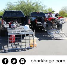 100 Truck Bed Ramp Work Table Loading Ramp Bed Extender Shark Kage Shark Kage