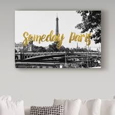 Paris Canvas Wall Art Wayfair