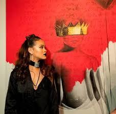 Singer Rihanna At Rihannas 8th Album Artwork Reveal For