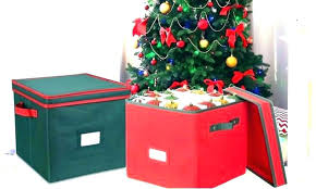Christmas Tree Storage Bin Box Bins Container With Wheels