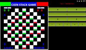 Coin Stack Board Game Screenshot