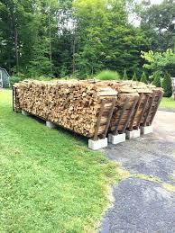 Outdoor Firewood Storage Firewood Rack Yard Wood Rack Firewood