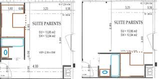 plan dressing chambre dressing chambre parentale affordable dlicieux plan chambre