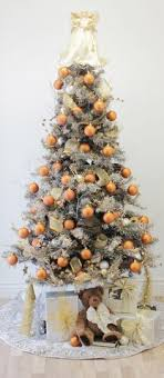 Silver Gold And Copper Christmas Tree In This Weeks Drab To Fab Column