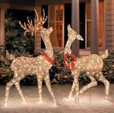 HUGE 12 Ft String Light Christmas Tree With Star Outdoor Yard Decoration