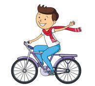 Boy With Paddle Riding Big Paper Boat Clipart 5981 Child Size 76 Kb From Outdoors