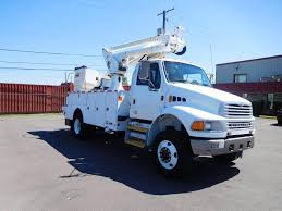2008 Sterling Acterra Boom / Bucket Truck, Automatic With Altec ... Bucket Trucks 400s Telescopic Boom Lift Jlg 1998 Gmc C7500 Liftall Lan65 Truck For Sale Youtube Intertional 4300 2007 Tc7c042 Material Handling Wliftall Lom1055 Freightliner M2 4x4 Lanhd752e 80 A Hydraulic Lift Bucket Truck On The Street In Vitebsk Belarus Ford F750 For Sale Heartland Power Cooperative Aerial 3928tgh By Van Ladder Video W Forestry And Body