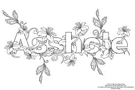 Trendy Inspiration Ideas Words Coloring Pages Free Page From Shut The Fk Up And Color Me