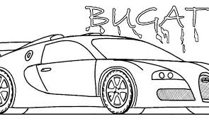 Bugatti Coloring Page Printable Pages For Kids Cool2bkids World