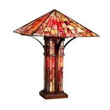red bronze table ls ls shades the home depot