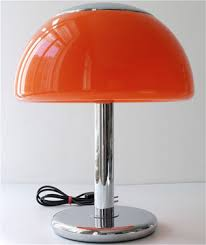 Red Table Lamp at Home and Interior Design Ideas