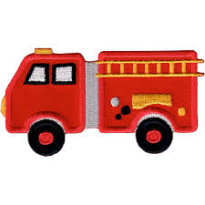 100 Fire Truck Applique Patchmommy IronOn Patches Walmartcom