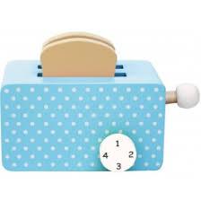 JaBaDaBaDo Toy Toaster In Turquoise