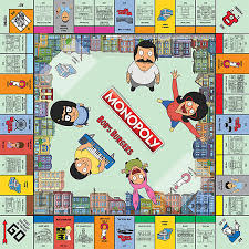 Bobs Burgers Monopoly