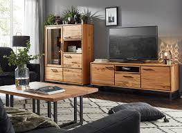 natura oakhaven industrial style massivholz möbel und