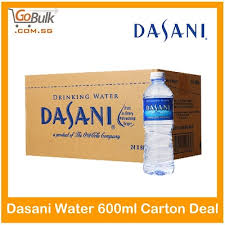 Dasani Water 600ml Carton Deal X 24 Bottle