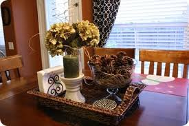 prepossessing centerpiece ideas for kitchen table magnificent