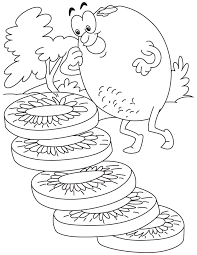 Free Kiwi Coloring Pages To Print For Kids Download And Color