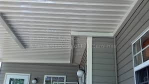 Aluminum Awnings & Under-decking - NC SC Replacing A Retractable Awnings Fabric Removal Installation Sunsetter Side Panel Setup And Takedown By Shade One Claroo Sail Overview Youtube Awningscreenroom Combo Details For Flagstaff Tseries Camping Running With Scissors Patio Sails How Much Does An Awning Cost Hipagescomau Setting Up A Caravan Roll Out Top Tourist Parks 12 Amazing Ideas To Decorate Your Homes Exterior Window Bahama Fixed Metal Solar Panel Awnings Are Very Aesthetic Is Creative Way Majestic New Jersey