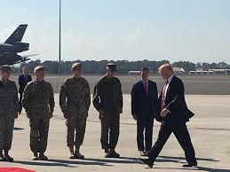 Dts Help Desk Number Air Force by President Trump Salutes Troops At Macdill Air Force Base In Tampa