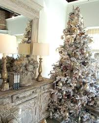 White Flocked Tree Awesome Decorating Ideas Inspirations Qvc Christmas Trees Uk