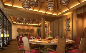 Interior Contemporary Lighting Ideas For Your Living Room Chinese Restaurant Ceiling Walls