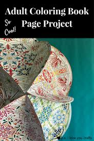 Adult Coloring Book Project P S I Love You Crafts