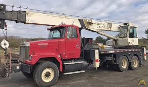 23t National 1295 Boom Truck Crane SOLD Trucks & Material Handlers ...