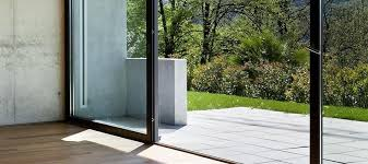 terrassen schiebetür aus kunststoff holz und holz alu