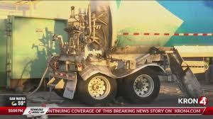 100 Truck Explosion Oxygen Tanker Explodes Catches Fire At Santa Rosa Kaiser Hospital