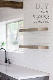 Floating Shelves Wood Plans by Best 25 Diy Wall Shelves Ideas On Pinterest Picture Ledge