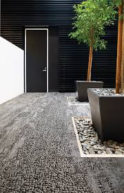 HUMAN NATURE HN850 FLINT Carpet tiles from Interface