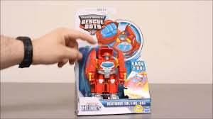 Dragon & Fire Truck!! Transformers Rescue Bots Hook & Ladder ...