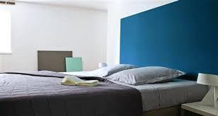 chambre deco bleu decoration peinture chambre peindre un mur en bleu foncac pour