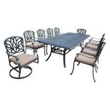 Bjs Outdoor Furniture Cushions by Berkley Jensen Milan 9 Pc High Dining Set Bj U0027s Wholesale Club