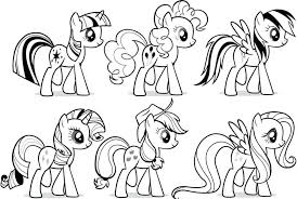 Coloring Pages My Little Pony Games Colouring Online
