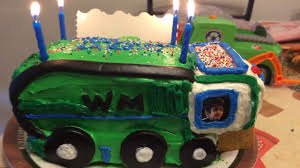 100 Truck Cakes Garbage Truck Cake YouTube